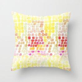 Snake Skin Yellow #animalprint #homedecor Throw Pillow