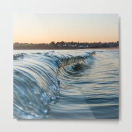 Sunset reflexion Metal Print