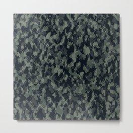 camouflage tarn military texture Metal Print