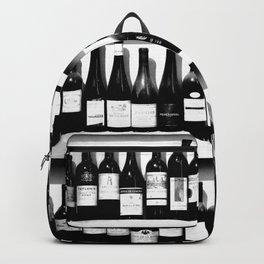 Wine Bottles in Black And White #decor #society6 #buyart Backpack