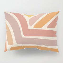 Abstract Stripes IV Pillow Sham