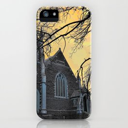 Carngham Uniting Church iPhone Case