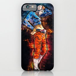 Jojos Bizarre Adventure Guido Mista iPhone Case