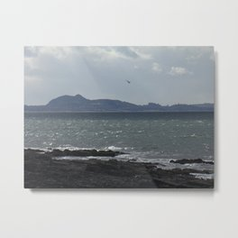 Arthur's Seat in the Distance Metal Print