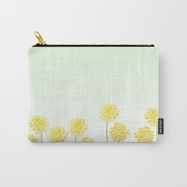 two abstract dandelions watercolor Carry-All Pouch