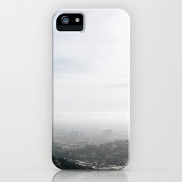 Griffith Park Overlook iPhone Case