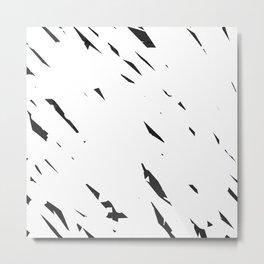 Erase Metal Print