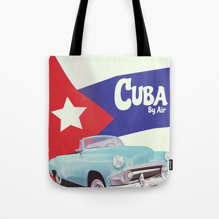 Cuba by Air Tote Bag