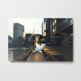 The World from another Perspective Metal Print