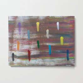 Colorful wind Metal Print