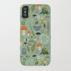 Fairy Garden iPhone X Slim Case