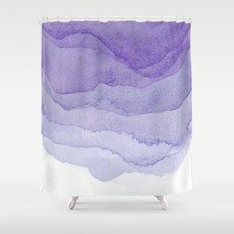 Lavender Flow Shower Curtain