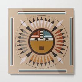 American Native Pattern No. 45 Metal Print