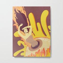 Escapism Metal Print