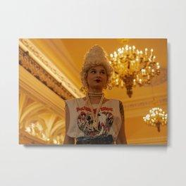 Alternative Marie Antoinette Metal Print