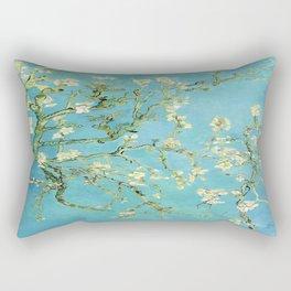 Vincent Van Gogh Almond Blossoms Rectangular Pillow
