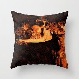 Keep Smilin' Throw Pillow