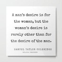 32    | Samuel Taylor Coleridge Poems | 200207 Metal Print