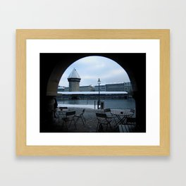 WINTER IN LUZERN Framed Art Print