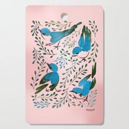 Birds in Spring Cutting Board