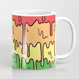 Cute Pride Pastel Melting Pride Design, 2018 pride flag Coffee Mug