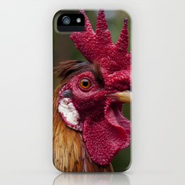 Cockerel in the Jungle iPhone Case