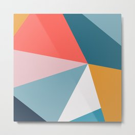 Modern Geometric 34 Metal Print
