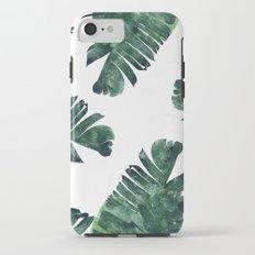 Banana Leaf Watercolor #society6 #buy #decor iPhone 7 Tough Case
