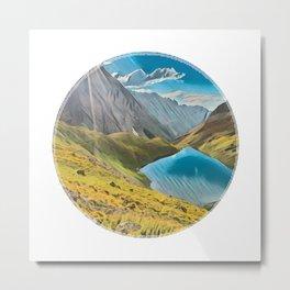 Mt. Sneffels Wilderness Metal Print