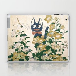 Jiji from Kiki's delivery service vintage japanese mashup Laptop & iPad Skin