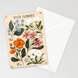 Wild Flowers ~ vol2. Stationery Cards