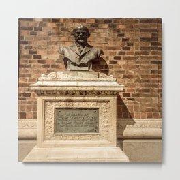 Carlo Catani Statue Metal Print