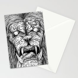 HELL'S ZODIAC - LEO Stationery Cards