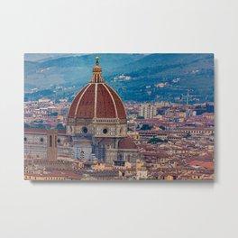 Il Duomo in Florence Metal Print
