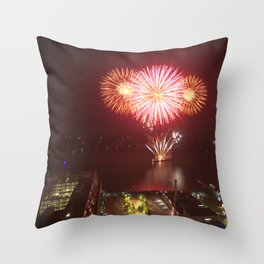 Canada Day. Throw Pillow