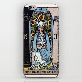 II. The High Priestess Tarot Card iPhone Skin