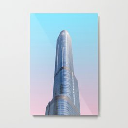 Chicago, Illinois II Metal Print