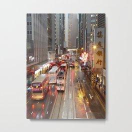 HK 009 Metal Print