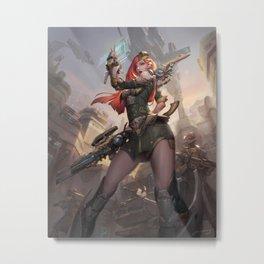 Commander Metal Print