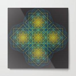 Matrice of Light Metal Print