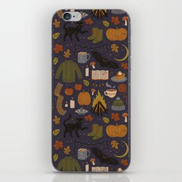 Autumn Nights iPhone Skin