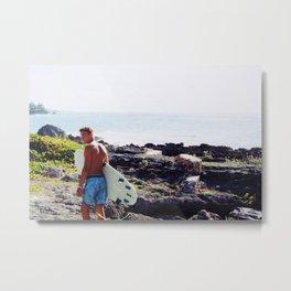 SURF 2 Metal Print