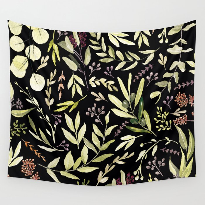 Eucalyptus in Autumn Wall Tapestry