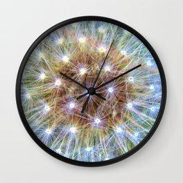 Luminous Colorful Blowball Wall Clock