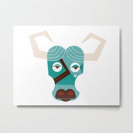 Babe the Blue Ox Metal Print