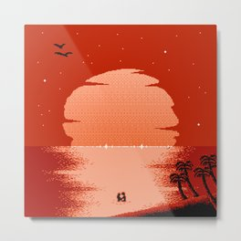 A South Wind Over the Ocean of Soul Metal Print
