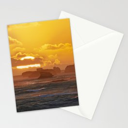 Sunset Over Bay of Martyrs. Stationery Cards