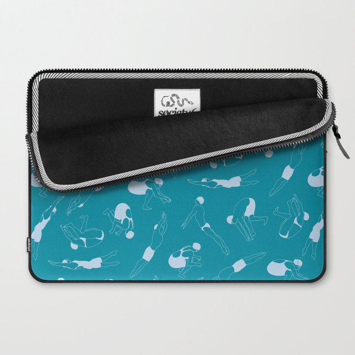 On Your Marks - Teal Laptop Sleeve