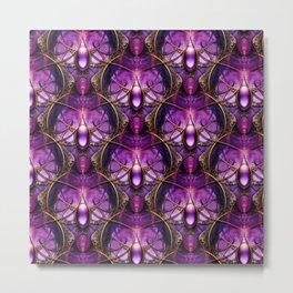 Purple Emperors Jewels Metal Print