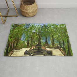 Rittenhouse Square in the Spring Rug